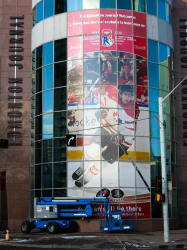 IIHF - Window Graphics