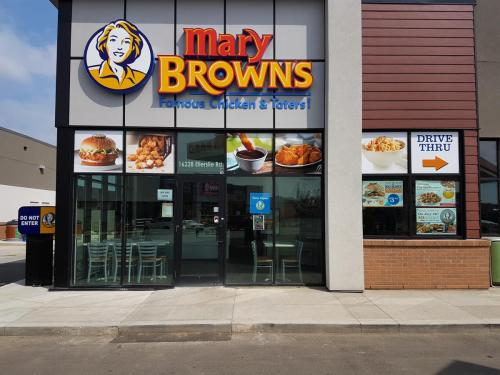 Mary Browns - Window Graphics