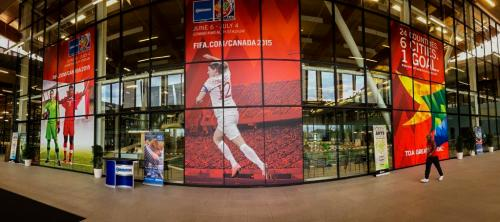 Meadows FIFA Rec Centre - Window Graphics