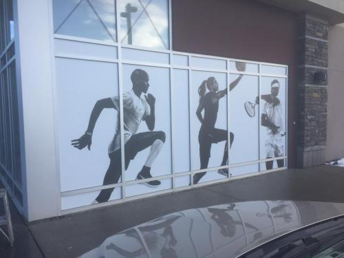 NIKE - Factory Outlet Store - South Edmonton Common - Exterior Graphics