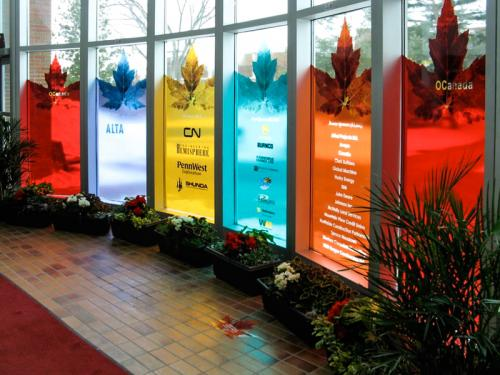 Olds College - Window Graphics